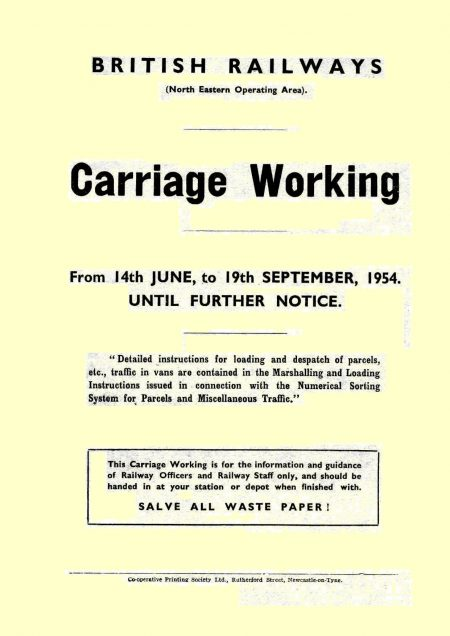 Carriage Working